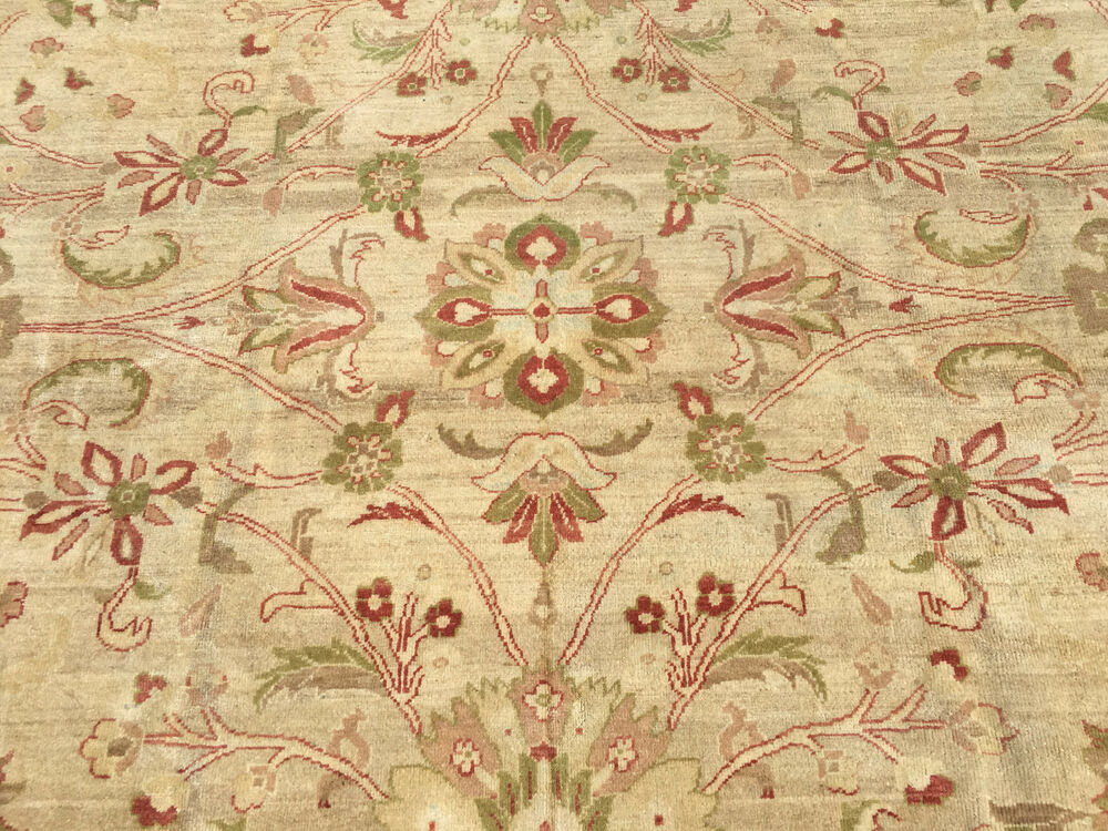8x10 Hand Knotted Woven Rug Wool Area Rugs 8 x 10 Peshawar ...