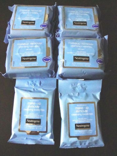 Neutrogena Makeup Remover Cleansing Towelettes Facial Wipe Face & Eye Wet Wipes  | eBay