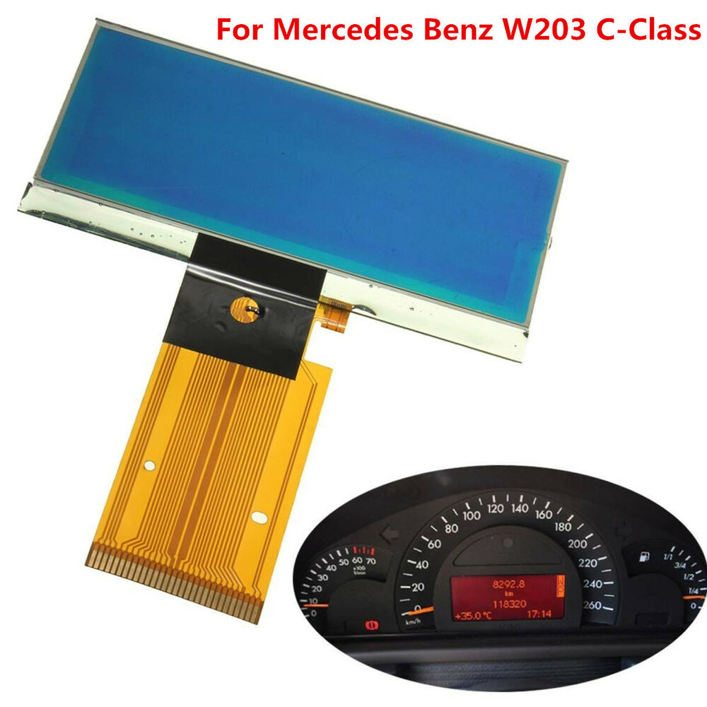 Speedometer Cluster LCD Display Screen Instrument For