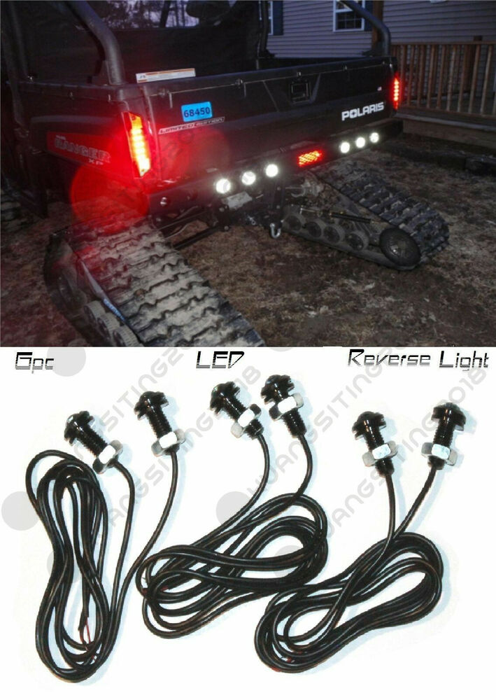 6pc polaris ranger led back