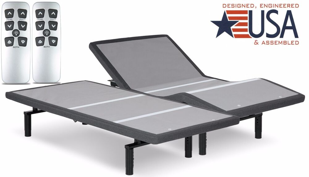 Split King Falcon 2 0 Plus Adjustable Bed By Leggett