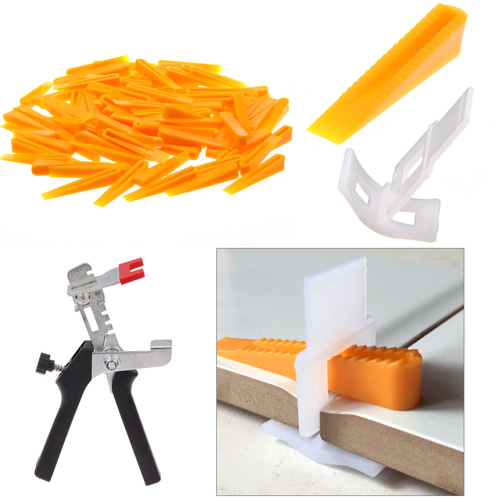 100 Tile Leveling Spacer System Tool Construction Spacer