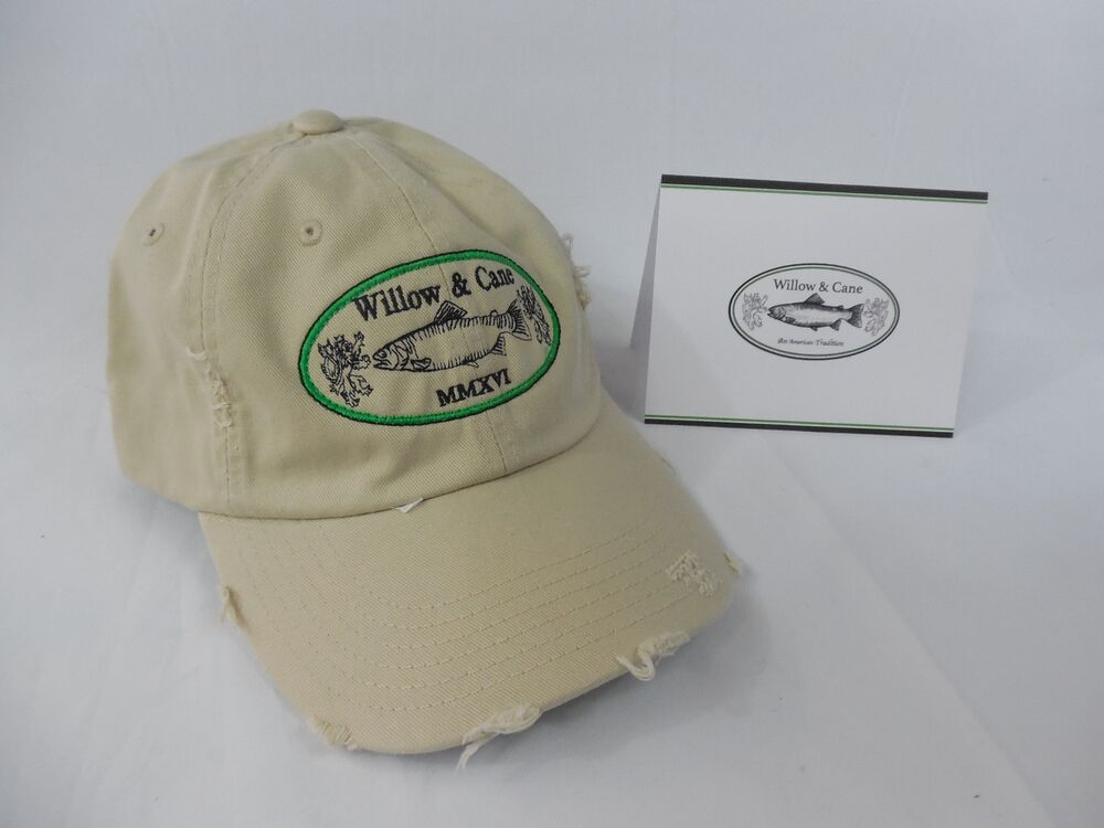 Fly fishing pre weathered hat an old salt look ebay for Old salt fishing