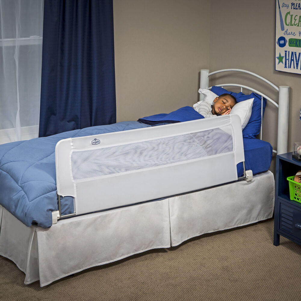 Extra Long Safety Bed Rail Toddler Kids Swing Down