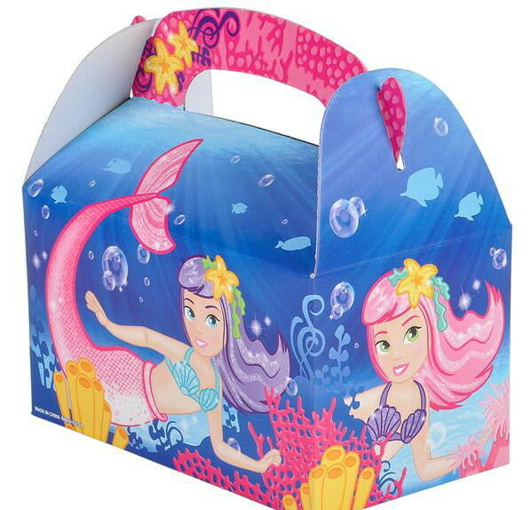 Carnival Toy Box Pink: 24 LITTLE MERMAID PARTY TREAT BOXES FAVORS GOODY BAG PRIZE