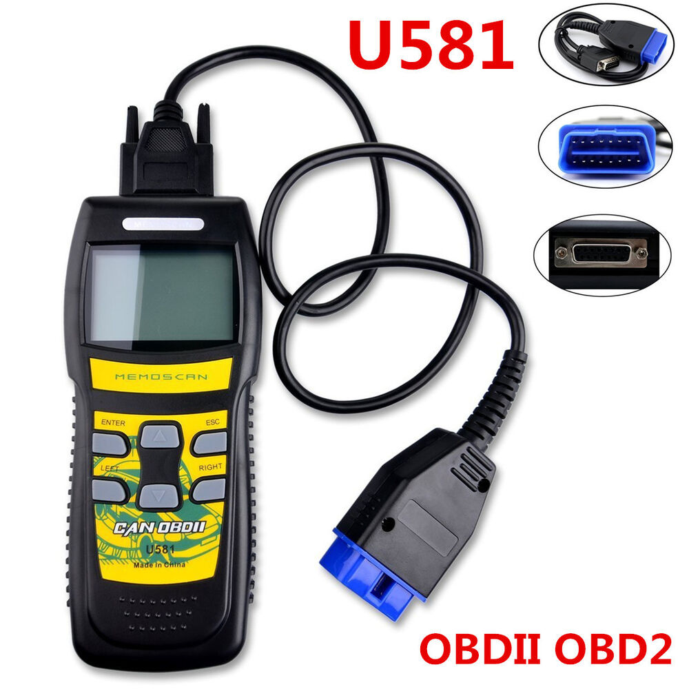 u581 obd2 obdii eobd can bus car code reader scanner auto. Black Bedroom Furniture Sets. Home Design Ideas