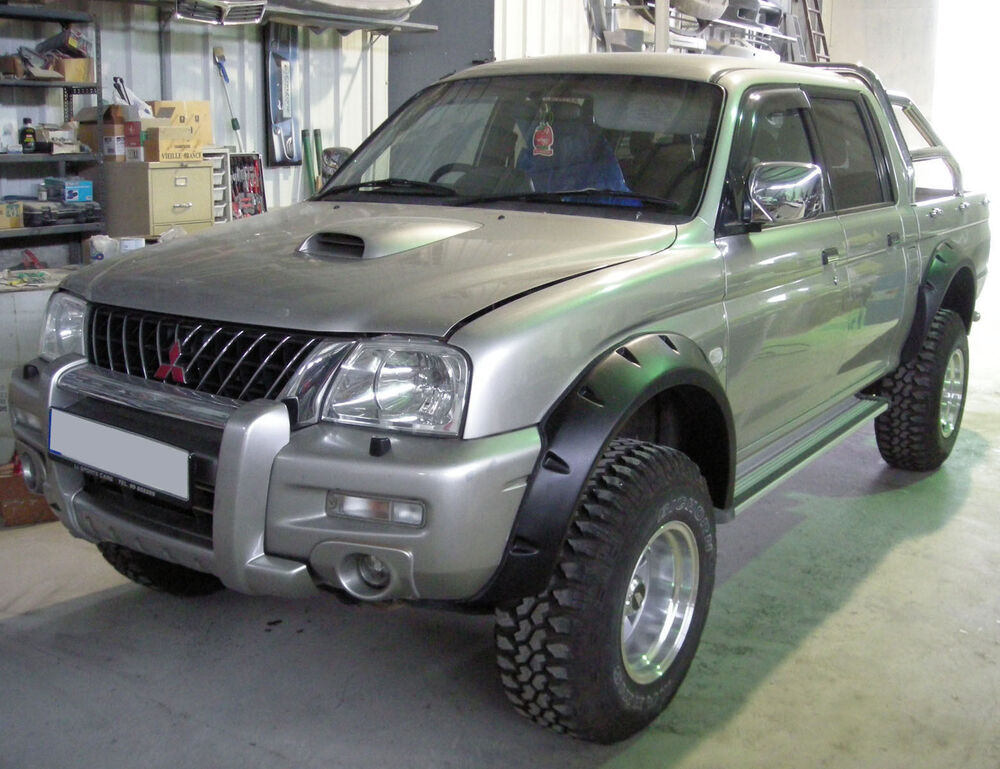 Wide Fender Flares Wheel Arches For Mitsubishi L200 1996
