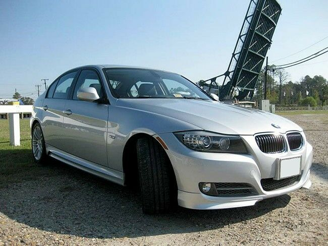 bmw 3 series e90 e91 lci 08 12 front bumper spoiler lip. Black Bedroom Furniture Sets. Home Design Ideas