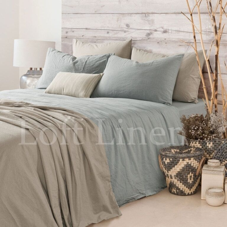 100 Pure Linen French Bed Linen Quilt Cover Linen Duvet