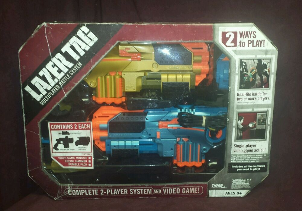 Tiger Phoenix Ltx Lazer Tag 2 Player System W Video Game