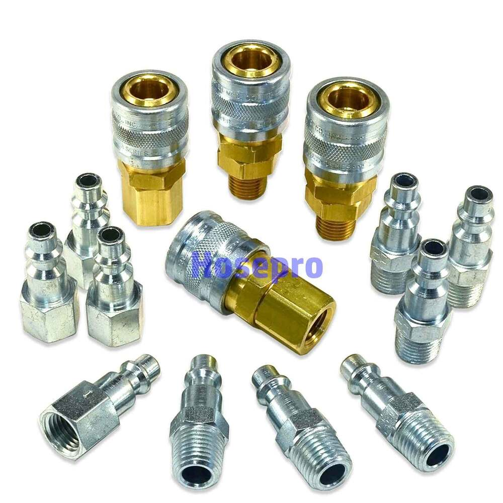 Npt air hose fittings m style tool line compressor
