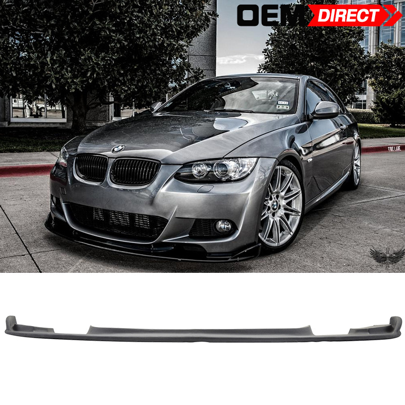 07 10 bmw e92 3 series pre lci mtech msport only h style front lip ebay. Black Bedroom Furniture Sets. Home Design Ideas