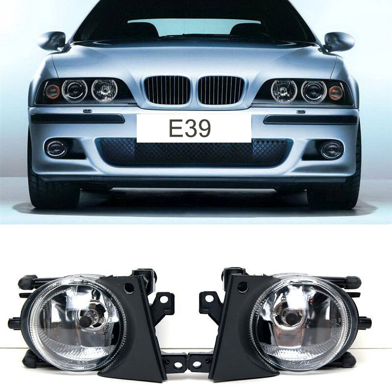 Front Bumper Replacement Fog Lights Clear Lens Lamps For