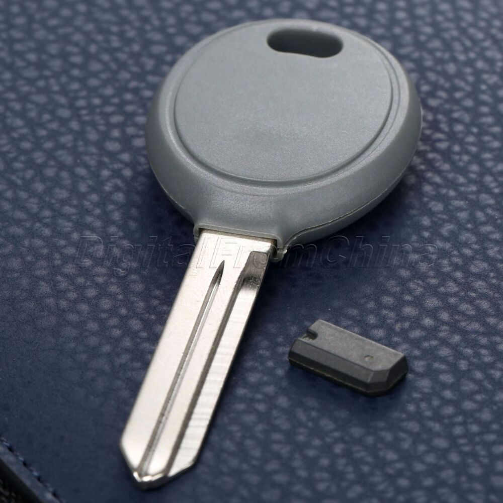 Car Ignition Key Transponder With 4d64 Chip Blade For