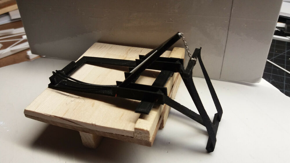 Model Repo Tow Truck Wrecker Sling For Pick Up Bed 1 24 1
