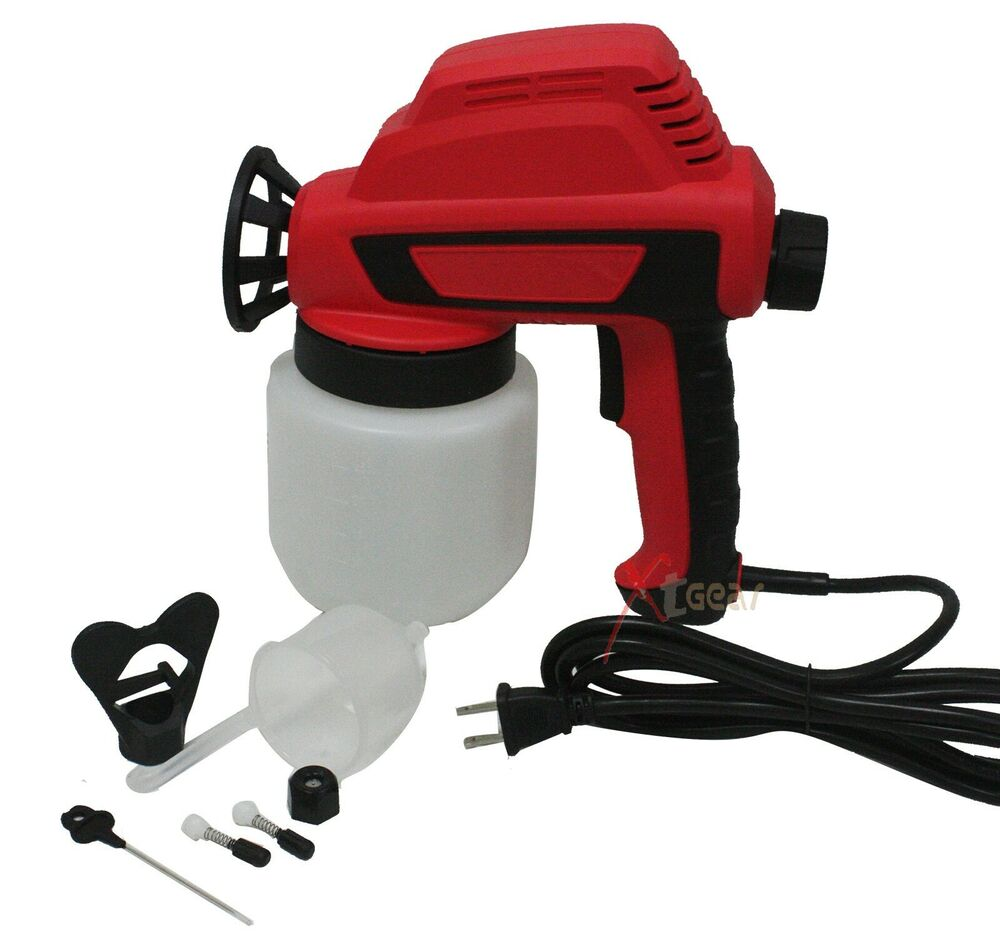 Electric Airless Air House Gun Sprayer Fence Room Painting Less Paint Ebay