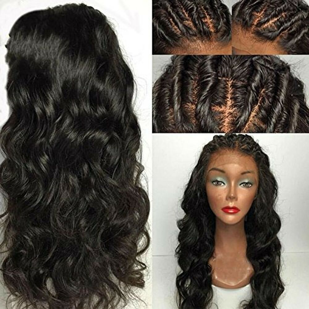 eva hair full lace human hair wigs for black women