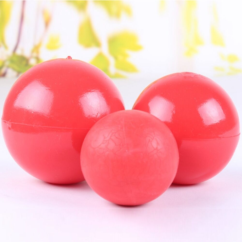 Rubber Ball Dog Toy : Dog toys pet trainning rubber red boomer ball playing