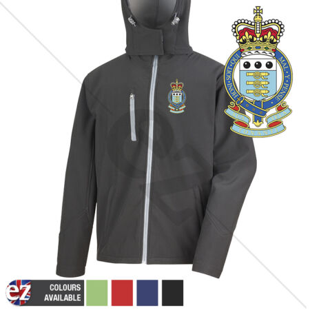 img-Royal Army Ordnance Corps - Hooded Softshell Jacket - Personalisation
