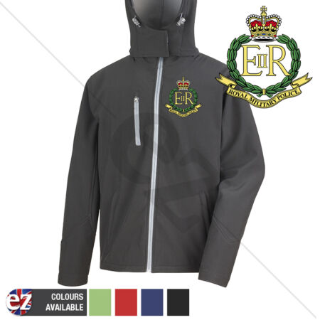 img-Royal Military Police - Hooded Softshell Jacket - Personalisation