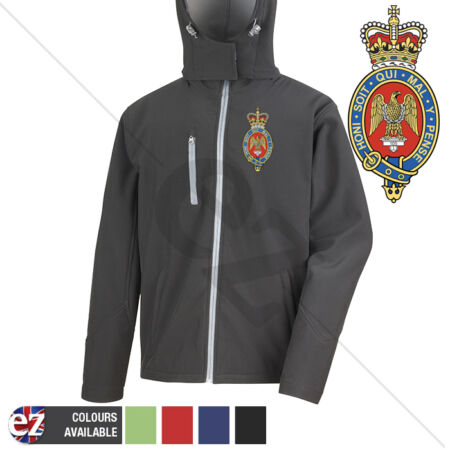 img-Blues and Royals - Hooded Softshell Jacket - Personalisation