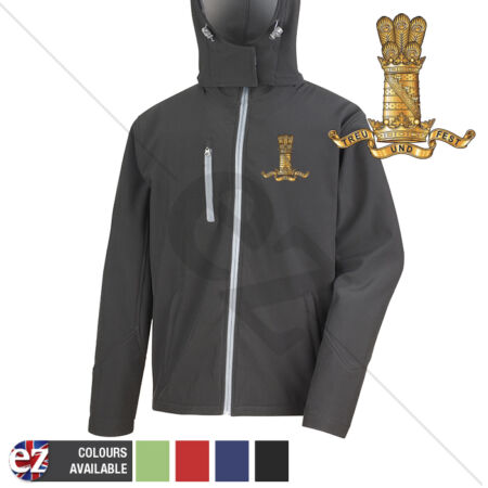 img-11th Hussars - Hooded Softshell Jacket - Personalisation