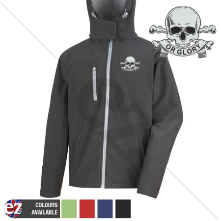 img-17th21st Queens Royal Lancers - Hooded Softshell Jacket - Personalisation