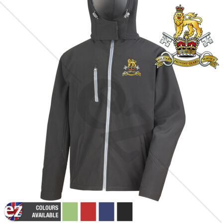 img-Military Provost Guard Service - Hooded Softshell Jacket - Personalisation