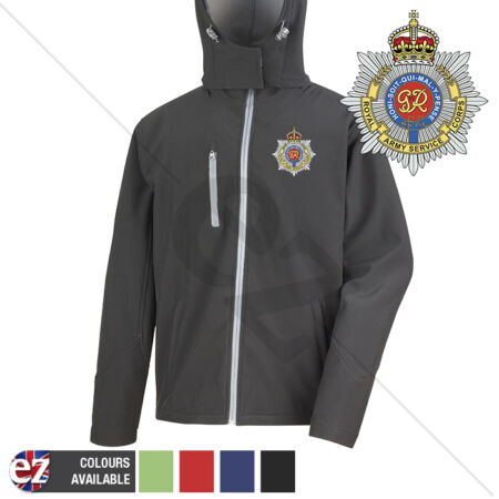 img-Royal Army Service Corps - Hooded Softshell Jacket - Personalisation