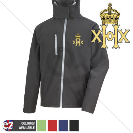 img-20th Hussars - Hooded Softshell Jacket - Personalisation