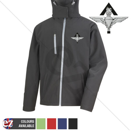 img-Para Pathfinder - Hooded Softshell Jacket - Personalisation