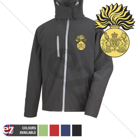 img-Royal Scots Fusiliers - Hooded Softshell Jacket - Personalisation