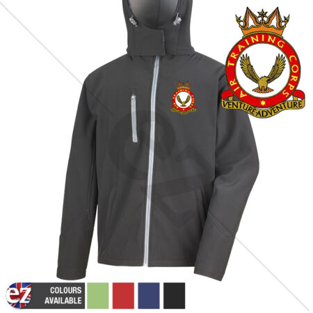 img-Air Training Corps - Hooded Softshell Jacket - Personalisation