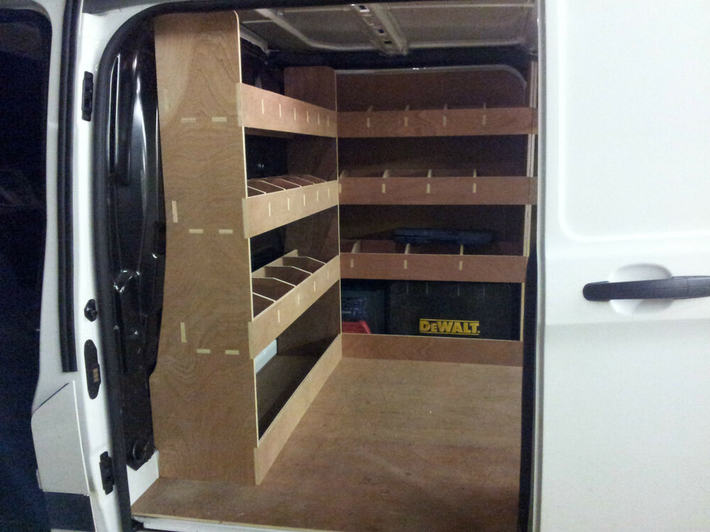 Ford Transit Custom Van Racking Swb Bulkhead And O Side