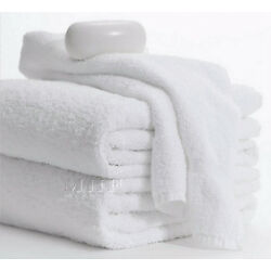 Bath Towels-MHF Brand-6 Pack-24x50 inches-White-10.50 Lbs- 100% Cotton