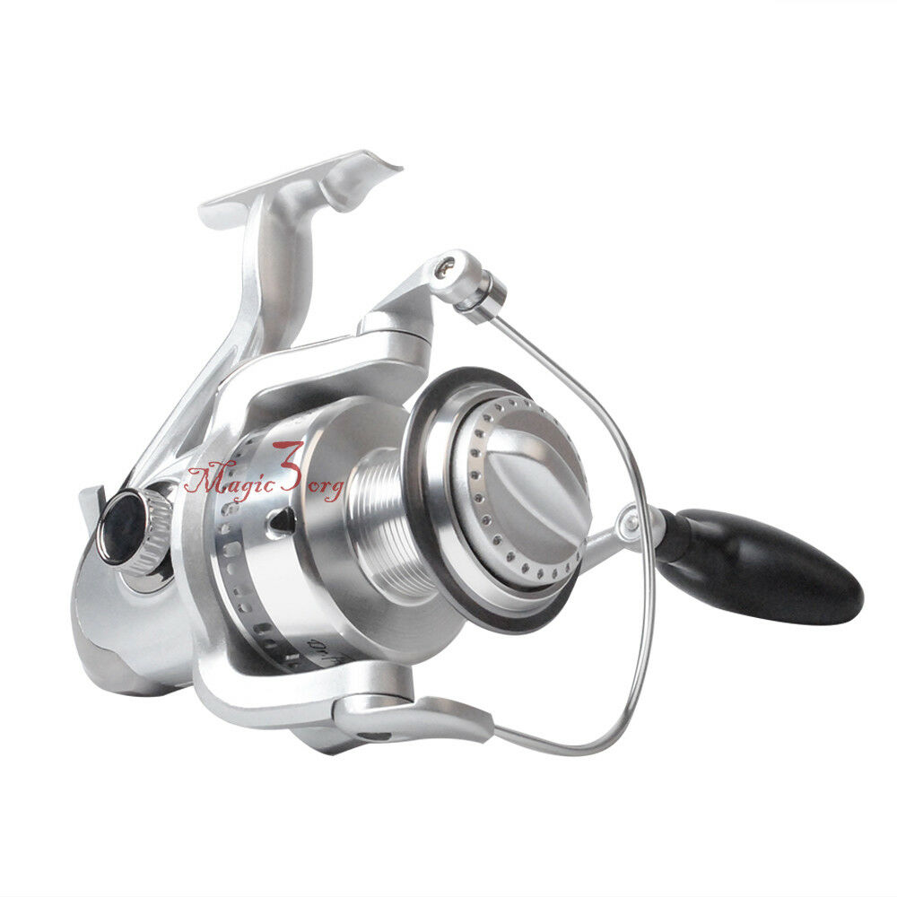 Saltwater surf fishing spinning reel 9 1bb trolling heavy for Shark fishing rod and reel combo