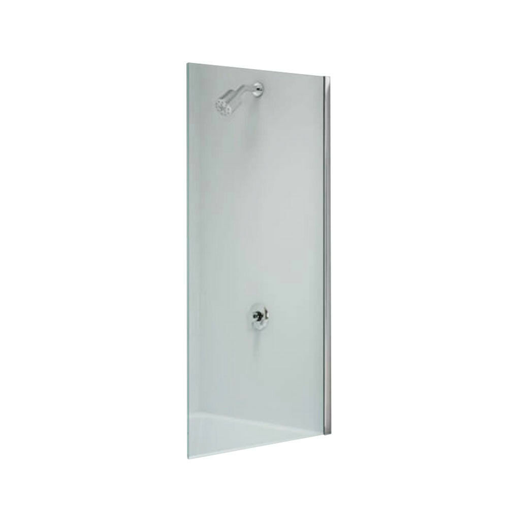 Frameless Over Bath Fixed Shower Panel Screen Customized
