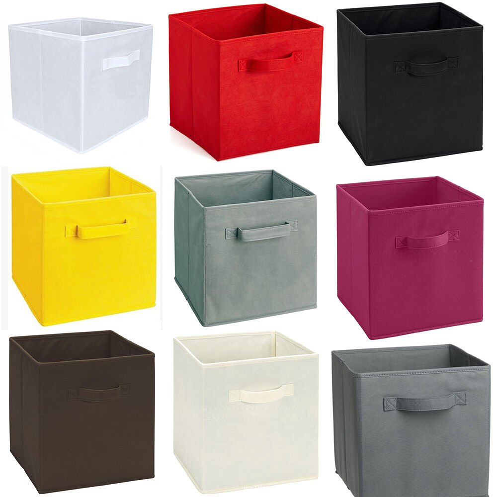 26 7 26 7 28cm Foldable Storage Box Closet Bins Container