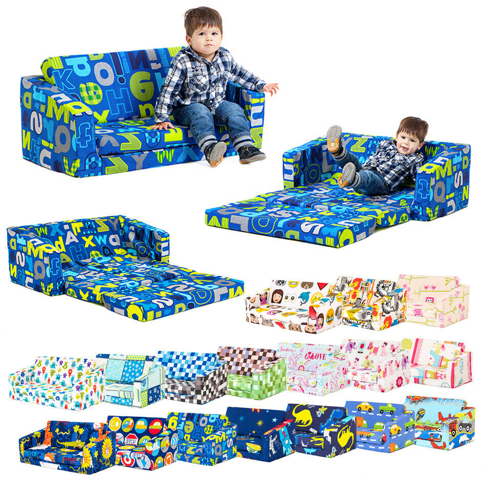 Lily Kids Flip Out Sofa Sleep Over Fold Chair Z Bed  : s l1000 from www.ebay.co.uk size 942 x 942 jpeg 275kB