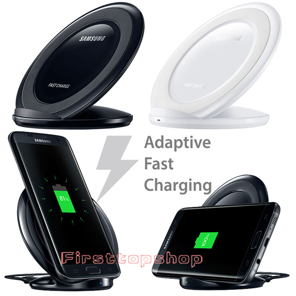 fast qi wireless charger charging pad stand dock for. Black Bedroom Furniture Sets. Home Design Ideas