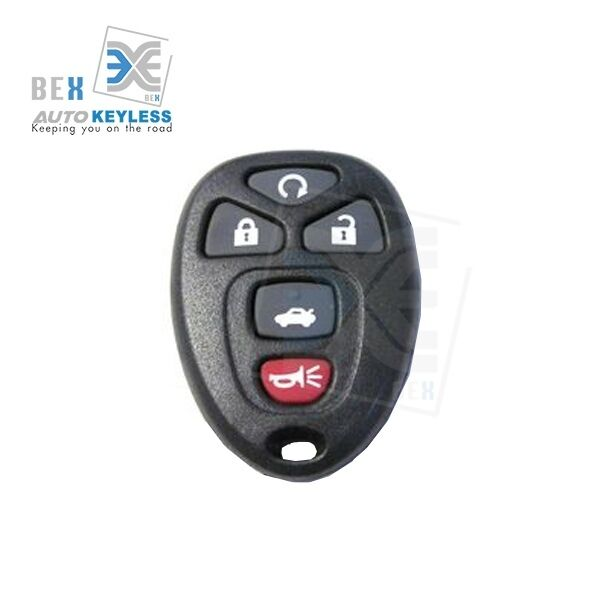 2006 Cadillac Dts Battery: New Keyless Entry Remote Key Fob Replacement For 2006-2011