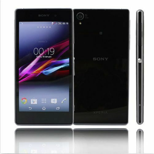 black 5 sony ericsson xperia z1 c6903 21mp 4g unlocked gps phone quad core16gb ebay. Black Bedroom Furniture Sets. Home Design Ideas