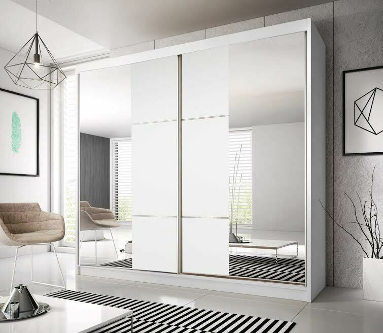 Brand new sliding door wardrobe 7 ft 8 233cm f03 for 7 foot mirror