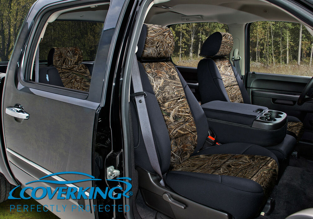 Coverking Camo Realtree Max 5 Custom Fit Front Seat Covers
