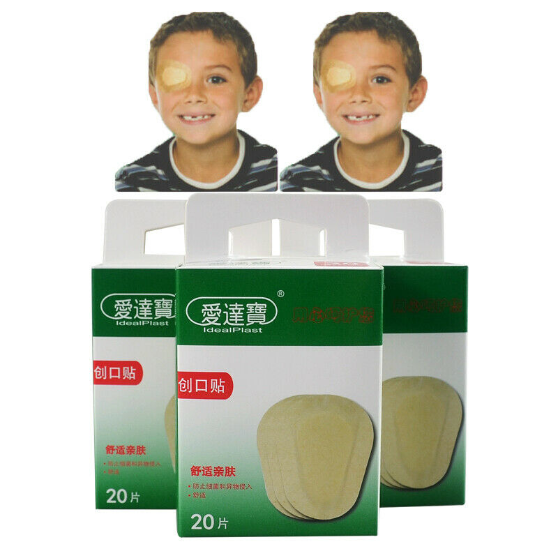 Pack Of 60PCs Eye Patch Pad First Aid Band Aid Medical