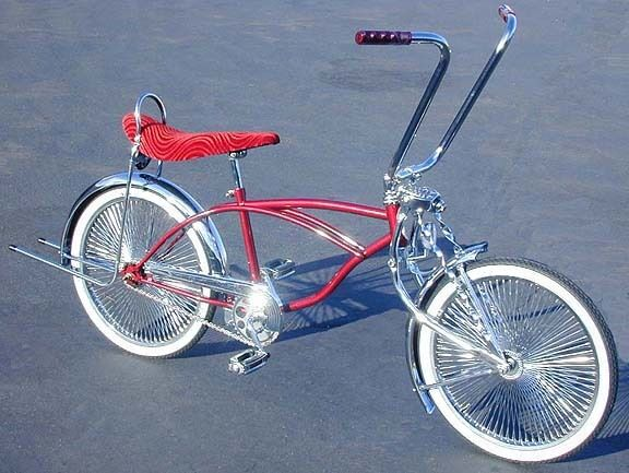 lowrider bicycle 20 burgundy 144 spoke lowrider bike ebay. Black Bedroom Furniture Sets. Home Design Ideas