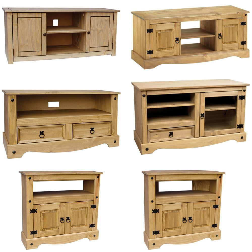 tv furniture cabinets corona panama tv cabinet media dvd unit solid pine wood 27354