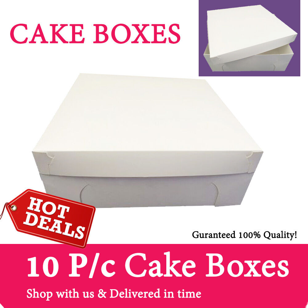 latest wedding cake boxes cake boxes various sizes qty 10 pack brand new wedding 5414
