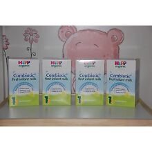*HiPP-UK--800g-4-BOXES-Organic-Combiotic-First-Infant-Milk-Stage-1- EXP 12/2019