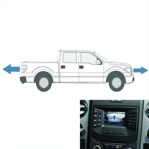 2013-14 F150 Front & Rear Camera Kit  for 4.2